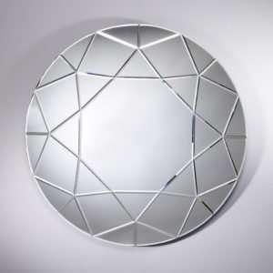 miroir diamond Round 9959 ASB Meuble Loi à Boussu région de Mons