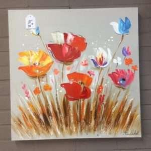 tableau thème fleur