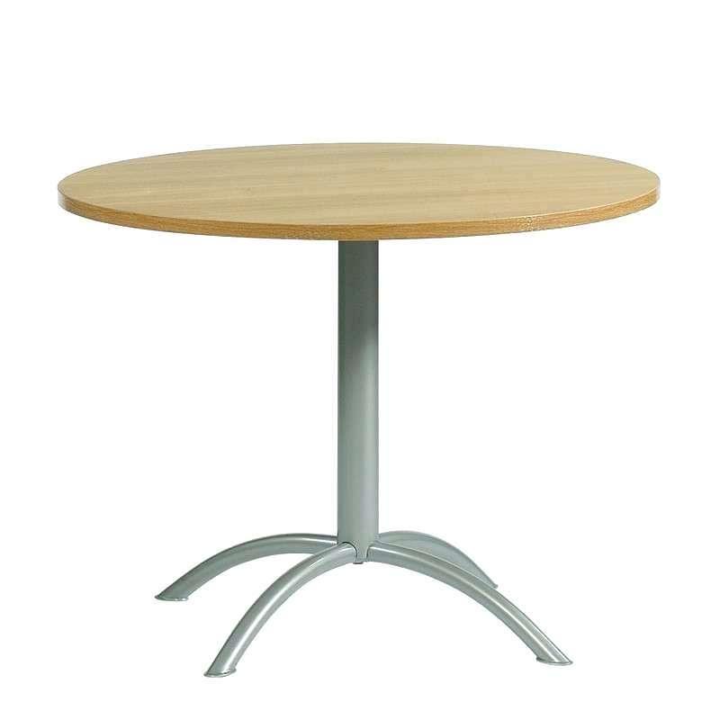 Table De Cuisine Ronde Pied Central Laser Et Chaise Roma Meuble Loi