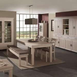 salle à manger en chêne fabriquée en Belgique MTE