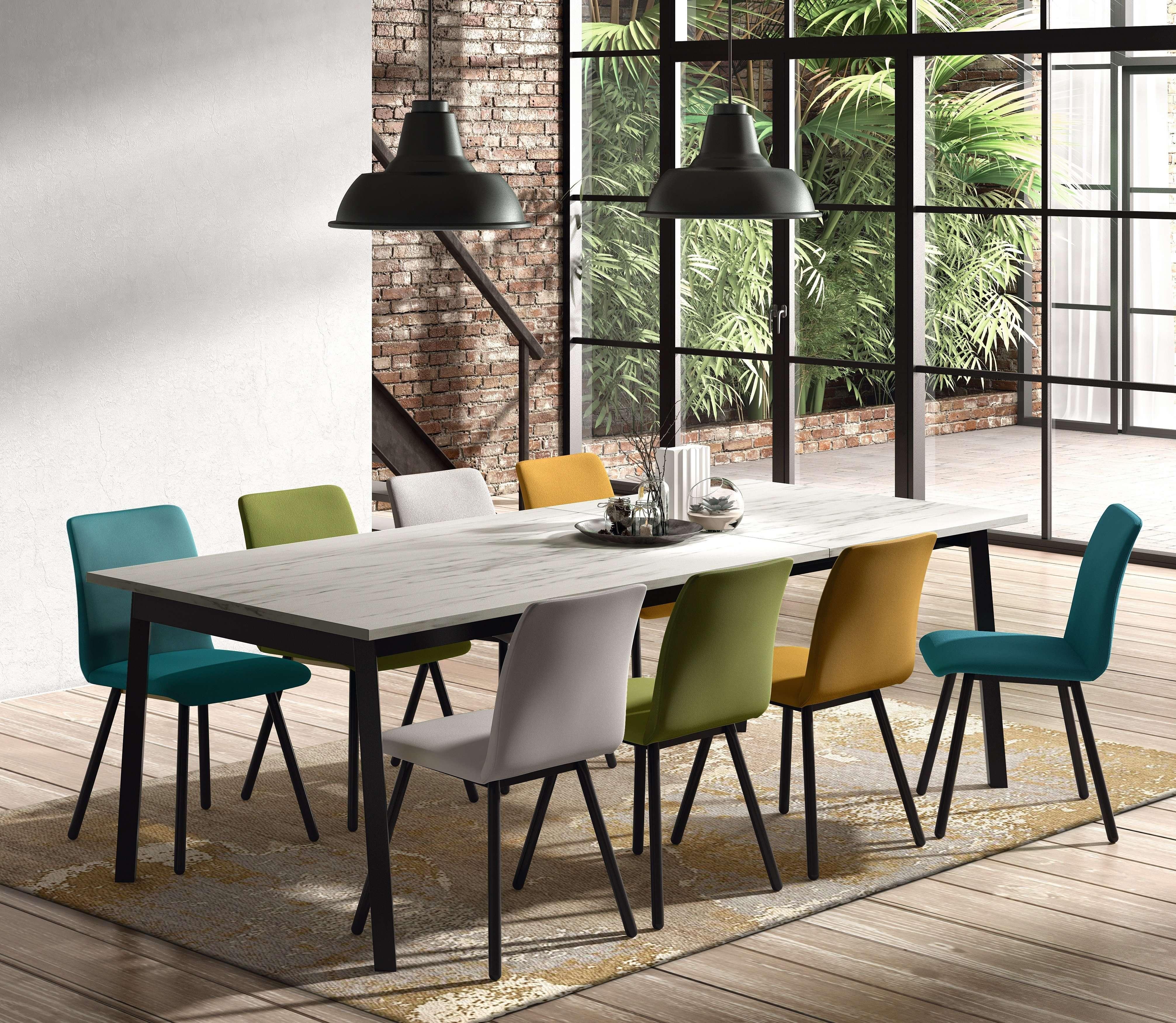 Table de cuisine rectangulaire victoria et chaise pisa meuble loi - Table cuisine rectangulaire ...