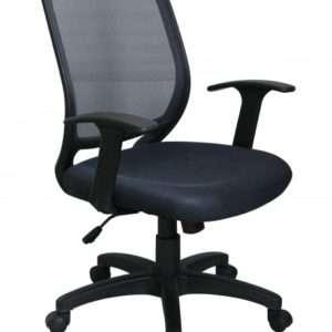 chaise de bureau - flex 2 - perfecta- meuble Loi - Boussu Lez Mons - Hainaut- noir jpg