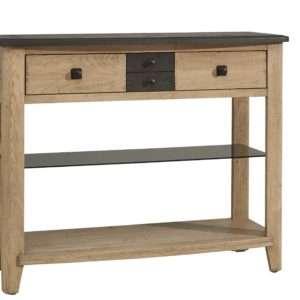 console - séraphine - chêne- meuble - d'entrée - Loi - Boussu Lez Mons - Hainaut
