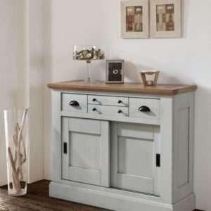 meuble d'entrée - portes coulissantes - chêne - meuble Loi - Boussu Lez Mons - Hainaut- romance