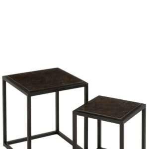 set de 2 tables gigognes 3515 jolipa
