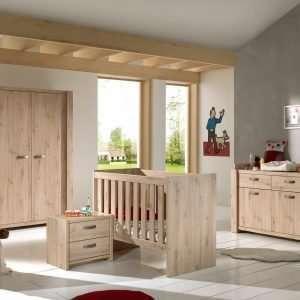 chambre de bébé Amalia en chêne artisanal
