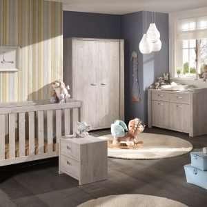 chambre de bébé Amalia en chêne ribbeck