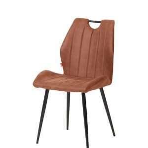 chaise loft pied métal noir